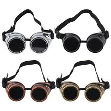 Fashion Cyber Goggles Steampunk Glasses Vintage Welding Punk Gothic Victorian DP