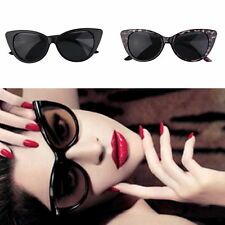 Women Cat Eye Retro Vintage Style Rockabilly Sunglasses Eye Glasses SCW DP