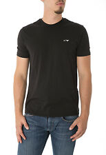 ARMANI JEANS - Men's short sleeve t-shirt with logo double pack