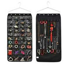 40 Pockets Double Sided Jewellery Closet Display Organizer Hanging Storage Bag