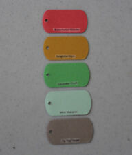 Stampin' Up NEW 2014-16/2015-17 IN COLOR Key Tag Die Cut Punch 5 You Choose