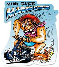Monster Mini Bike Madness Metal Sign Man Cave Garage Club Shop Wall Decor MLK069
