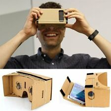 Hot Cardboard Virtual Reality 3D Glasses VR Video Film For Android Phone DIY BR