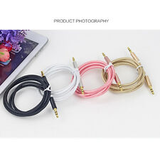 New 3.5mm AUX AUXILIARY CORD Male to Male Stereo Audio Cable PC iPod MP3 CAR Lot