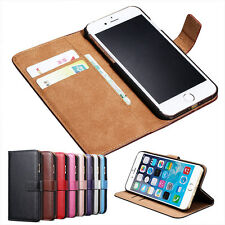 Luxury Magnetic Flip Wallet Leather Stand Case Cover For iPhone 8 6 6s 7 Plus