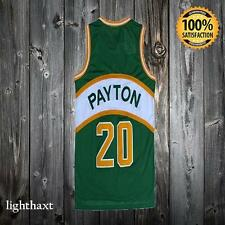 GARY PAYTON SONICS 20 GREEN JERSEY SWINGMAN BASKETBALL THROWBK NEW T SHIRT