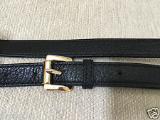 NEW CLIP-ON MICHAEL KORS LEATHER REPLACEMENT SHOULDER STRAP W/ LOGO MORE COLORS