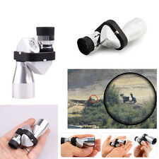 Mini Compact Pocket 8x20 Aluminum Monocular Telescope Camping Outdoor Hiking TS