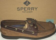 SPERRY TOP SIDER MENS BROWN BUCK BOAT SHOE Dark Tan Size 81/2 -12