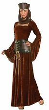 Deluxe Medieval Lady Women Renaissance Queen Costume by Forum Novelties