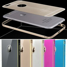 Arc Metal Bumper Hard Case Cover Shell Housing Protector for iPhone 5S 6 6S Plus