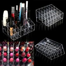 Clear 24 Makeup Cosmetic Lipstick Storage Display Stand Rack Holder Organizer DP
