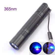 Led UV Flashlight Ultra Violet Torch 365nm 395Nm AA Blacklight Inspection lamp