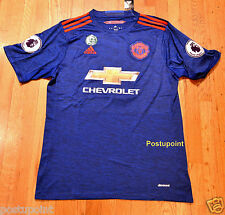 Manchester United Away Blue Jersey Ibrahimovic Pogba Mata Rooney 2016/2017