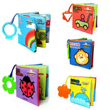 Intelligence Development Cloth Cognize Soft Book Vehicle Toy For Kids Baby
