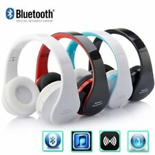 Wireless Bluetooth Foldable Stereo Headphone Earphone for iPhone Samsung DE