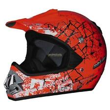Ski-Doo  Pro Snowcross Rebellious Helmet - Orange