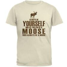 Always Be Yourself Moose Mens T Shirt