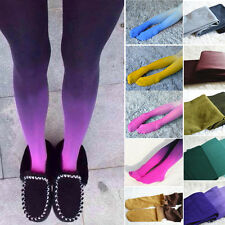 Women Girls Fashion New Gradient Design Color Tights Pantyhose Hosiery Socks