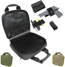Condor Lockable Pistol Case w/ Gun Holster Elastic Keeper Utility & Tool Pouches