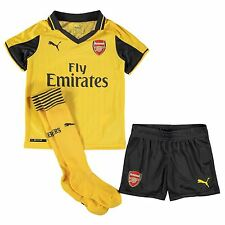 Puma Arsenal FC Away 2016 2017 Mini Kit Childs Football Soccer Jersey Shorts