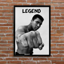 Muhammad Ali Gym Boxing Legend Poster High Quality Poster Print Art A1, A2, A3+