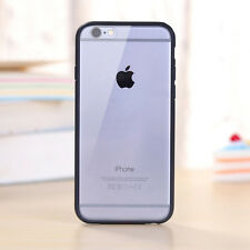 Hard Matte Clear Back Case Soft Silicone TPU Bumper Cover for iPhone 5 6 7/7plus