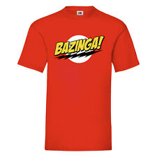 Sheldon Cooper bazinga Big Bang Theory T shirt