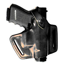 Front Line FL90xx4 Half Pancake Geniue Leather Gun Holster Left / Right Hand New