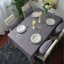 Gray Cotton Table Cloth Kitchen Tablecloth Table Cover Cushion Cover Home Decor