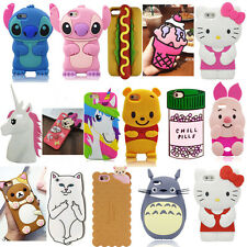3D Cartoon Silicone Phone Case Cover For Iphone 5 6 7 Plus Samsung S6 S7 J7 J5