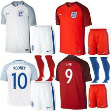 2016 England Football Club Soccer kits+socks Sportswear Jersey 3-14 Years