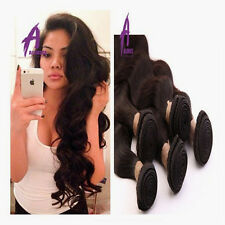 Peruvian Virgin hair human hair extensions weave weft Body Wave 4Bundles 400g 8a