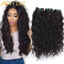Brazilian Curly Virgin Remy Hair 100g/bundle Water Wave Wet and Wavy Human Hair
