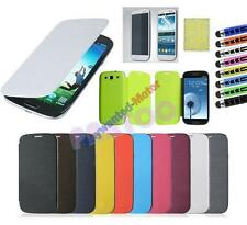 Luxury PU Flip Leather Case Cover For Samsung Galaxy S3 S III i9300