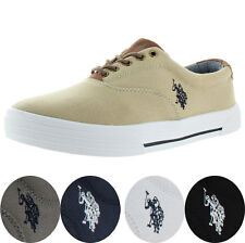 U.S. Polo Assn Skip Men's Canvas Fashion Sneakers Boat Shoes Size 13 US