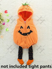 Halloween Baby Toddler Pumpkin Patch Cutie Boys Girls Fancy Dress Costume Outfit