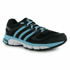 Adidas RSP Cushion Womens Running Shoes Trainers Black/Blue Jogging Sneakers