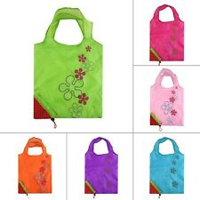 1PCS Strawberry Foldable Shopping Bag Tote Reusable Eco Friendly Grocery Bag DE