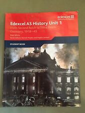 Edexcel AS History Unit 1 Germany 1918-45
