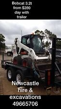 Newcastle Machinery Hire 49665706 Excavator Dingo Auger Stump Grind Tipper Etc