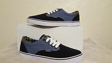 OSIRIS SHOES SLAPPY BLUE BLACK MENS UK SIZE 8 NEW UNBOXED SKATEBOARDING