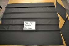 1966 66 1967 67 CHEVELLE SS 2 DOOR HARDTOP BLACK TIER GRAIN HEADLINER USA MADE