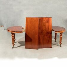 Antique Dining Table Large Extending Seats From 4 - 10 Victorian Mahogany c1870
