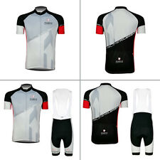 2016 New Mens Cycling Jersey Bib Shorts Padded Biking Bicycle Shirt Brace Tights