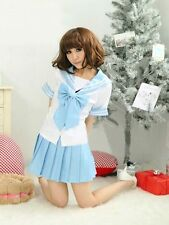 [wamami]Japanese Maid Dress Cosplay Maid Costume Sexy Lolita Apron Dress Set