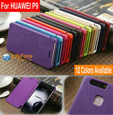 Luxury Book Style flip cover Holster PU Leather Case for Huawei P9 / P9 Lite