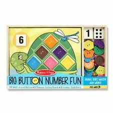 Big Button Number Fun - Fun Learning Toys by Melissa & Doug (4319)