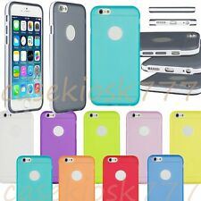 for iphone 6 4.7 inch silicone gel rubber shockproof sides hybrid case  cover/