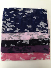 New Ladies Girls Classy  Butterfly Design Scarf Wrap Shawl Retro Fashion